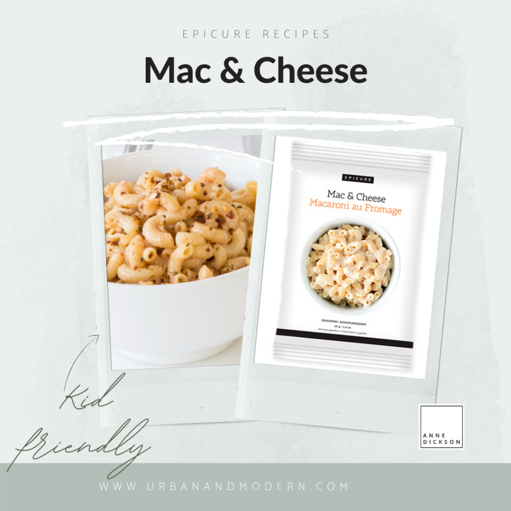 Epicure mac and cheese