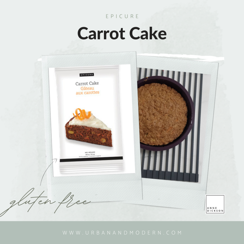 epicure carrot cake