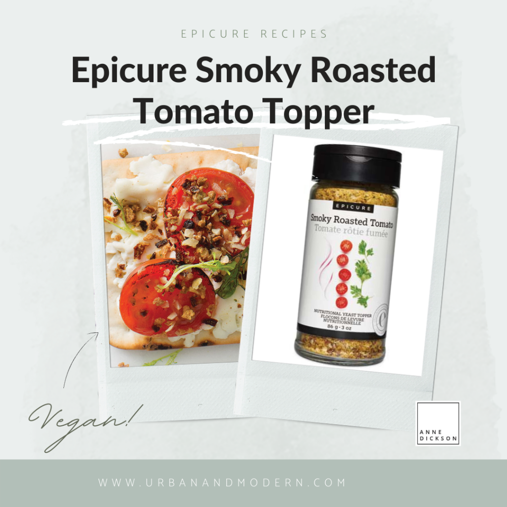 Epicure Smoky Roasted Tomato topper