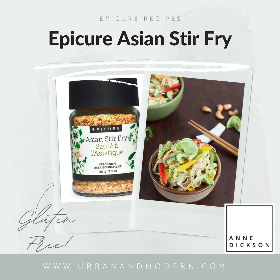 Epicure Asian Stir Fry recipes