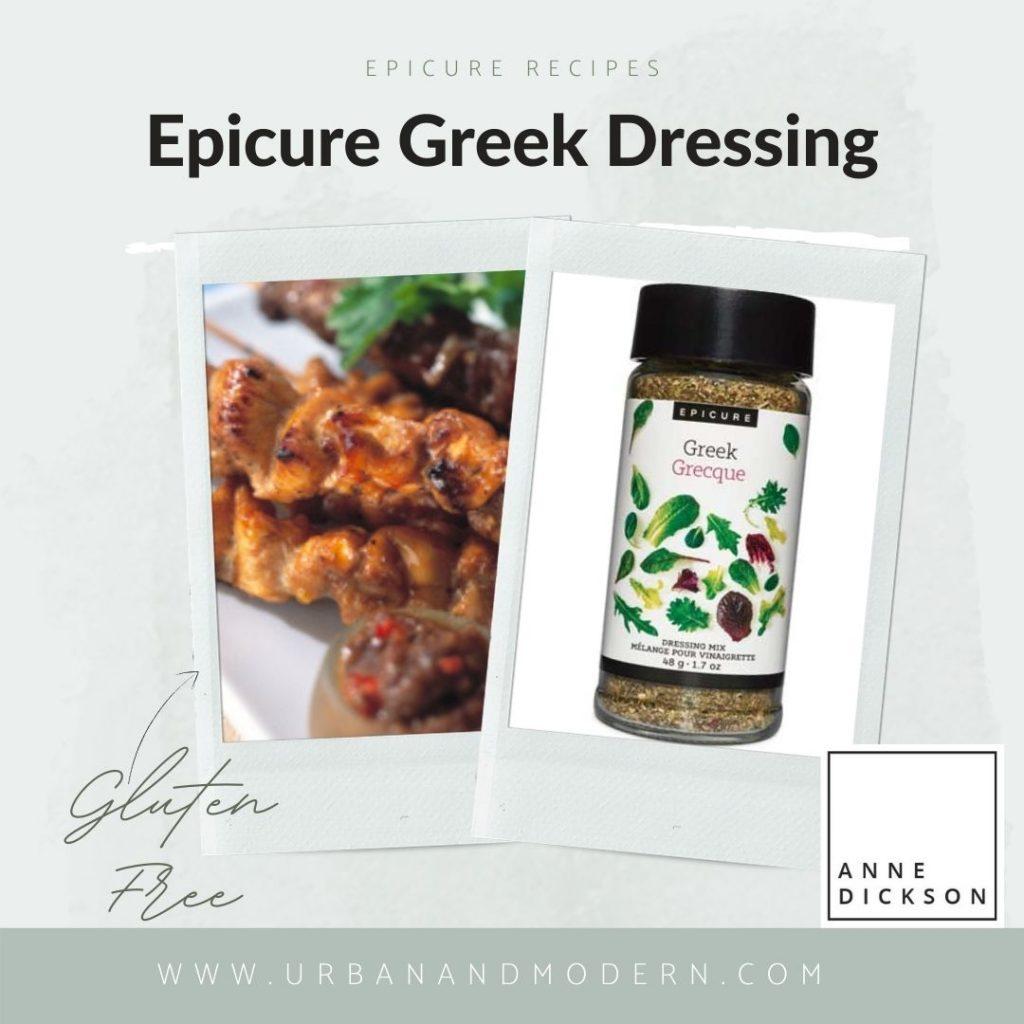 Epicure Greek Dressing