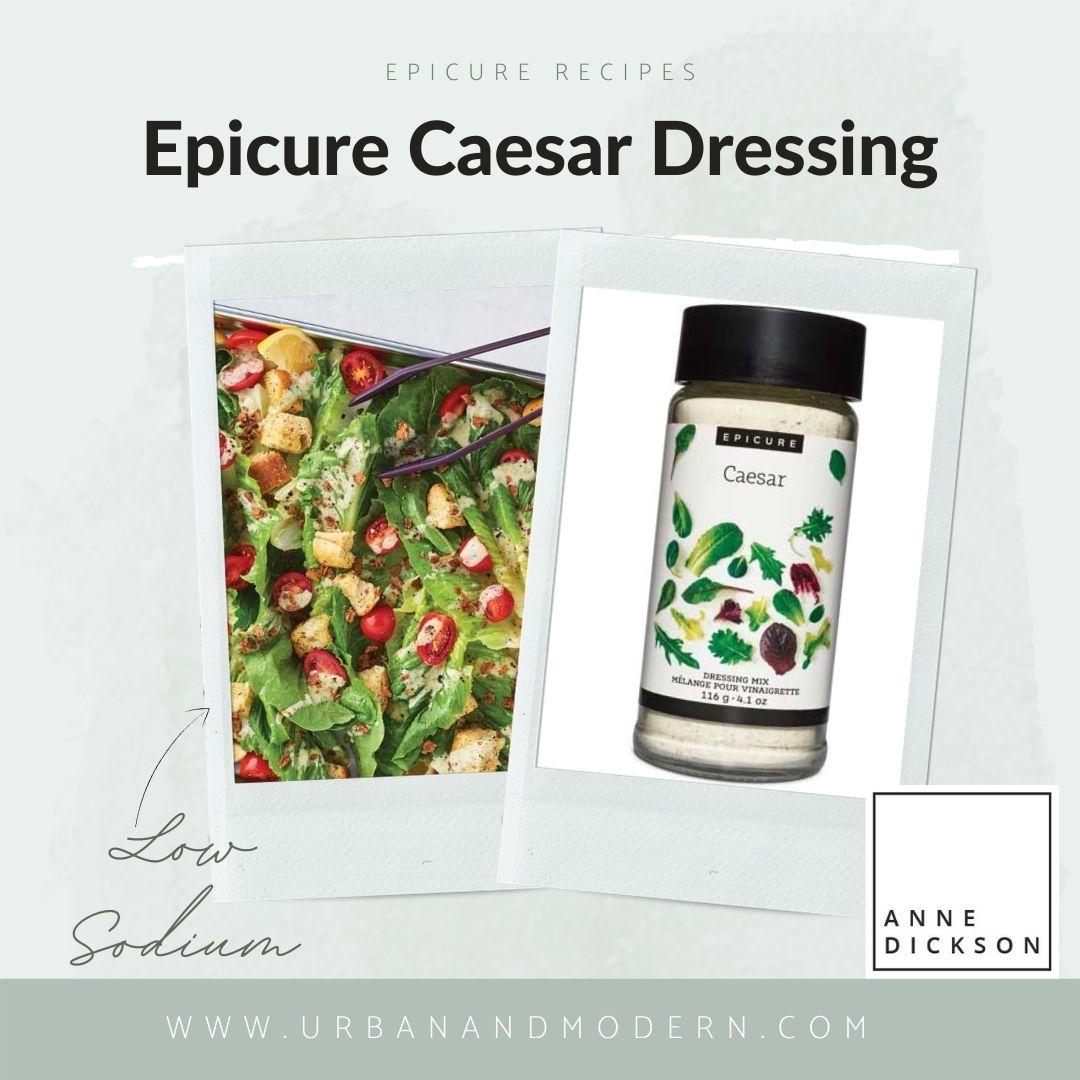 Epicure Caesar Dressing