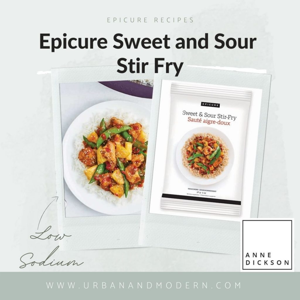 Epicure Sweet and Sour Stir Fry
