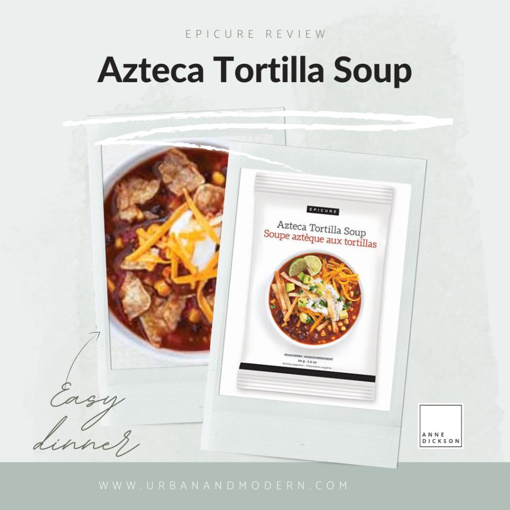 Epicure Aztec Tortilla Soup 4