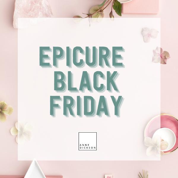 Epicure Black Friday 2019