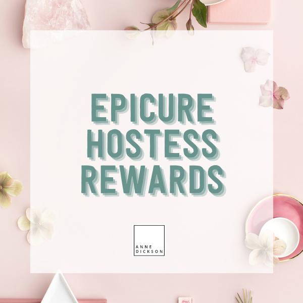 Epicure Hostess Rewards