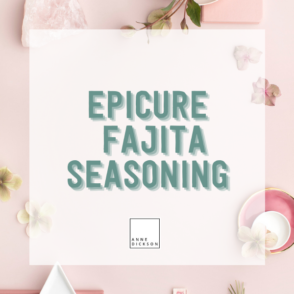 Epicure Fajita Seasoning
