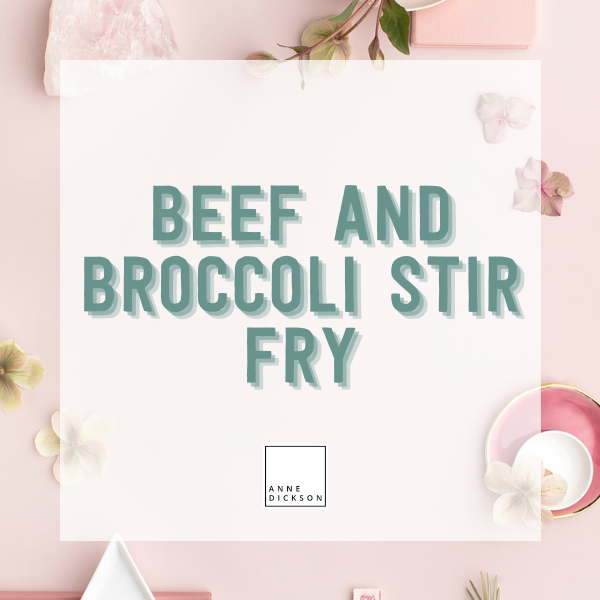 Epicure Beef and Broccoli Stir Fry