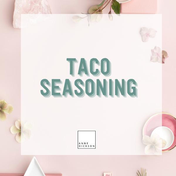 Epicure Taco Seasoning Recipes