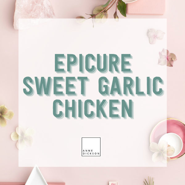 Epicure Sweet Garlic Chicken Seasoning