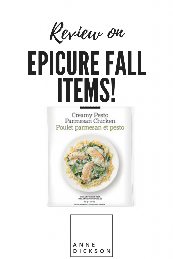 Epicure Fall items