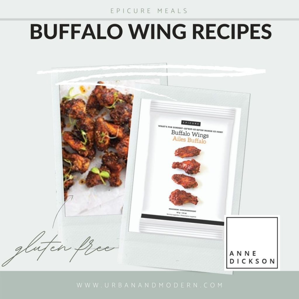Epicure Buffalo Wing Recipes