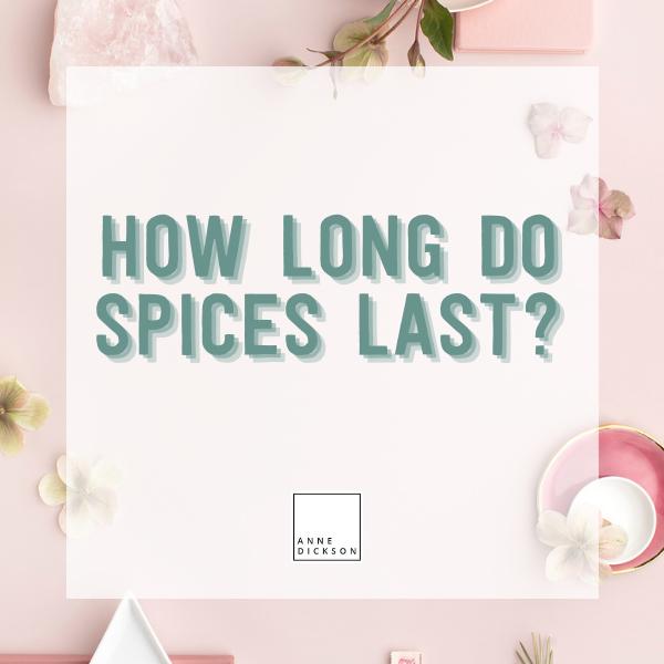 How long do Epicure spices last?