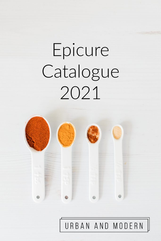 Epicure Catalogue 2021