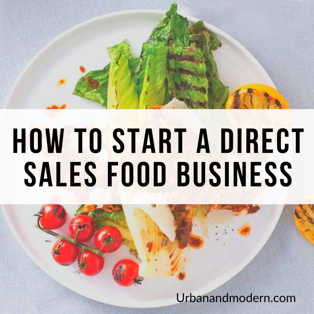 How to start a Direct Sales Food business 3