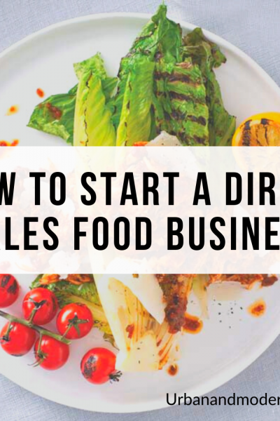 how to start a direct sales food business