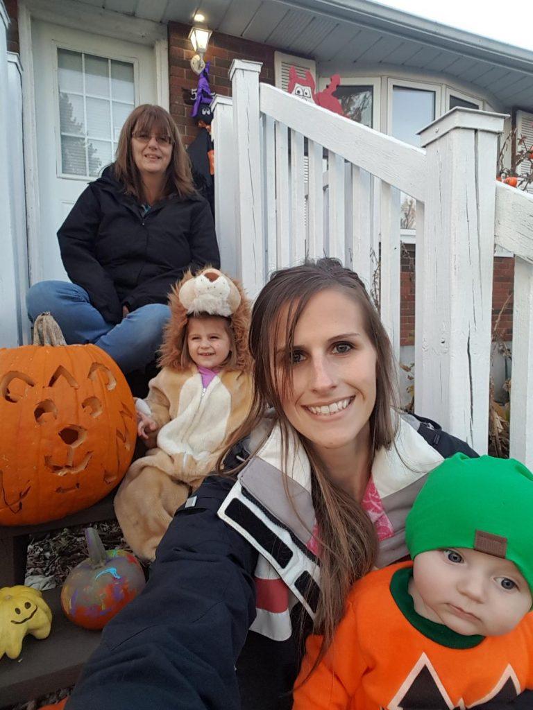 debbie and her grandchildren