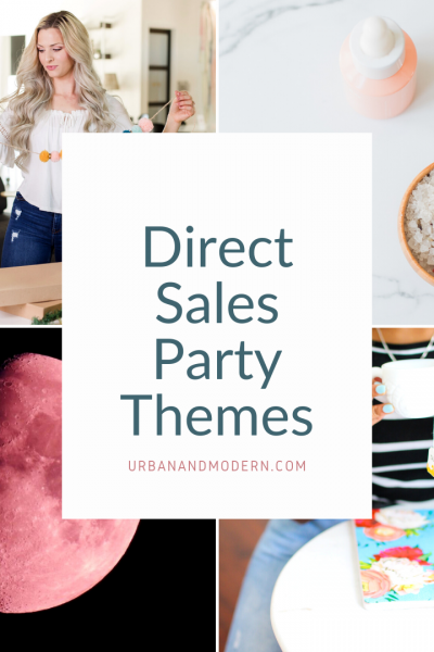 direct sales party themes