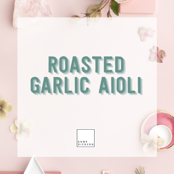 Roasted Garlic Aioli Recipes