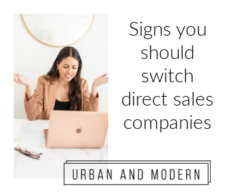 signs you should switch direct sales companies