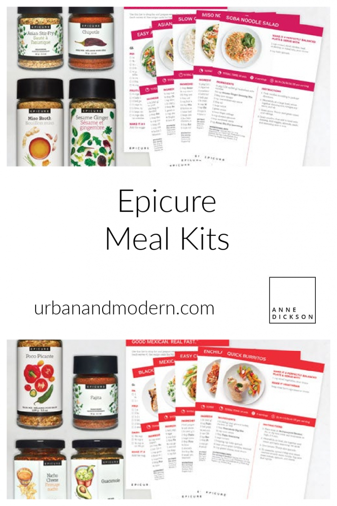 Epicure Meal Kits