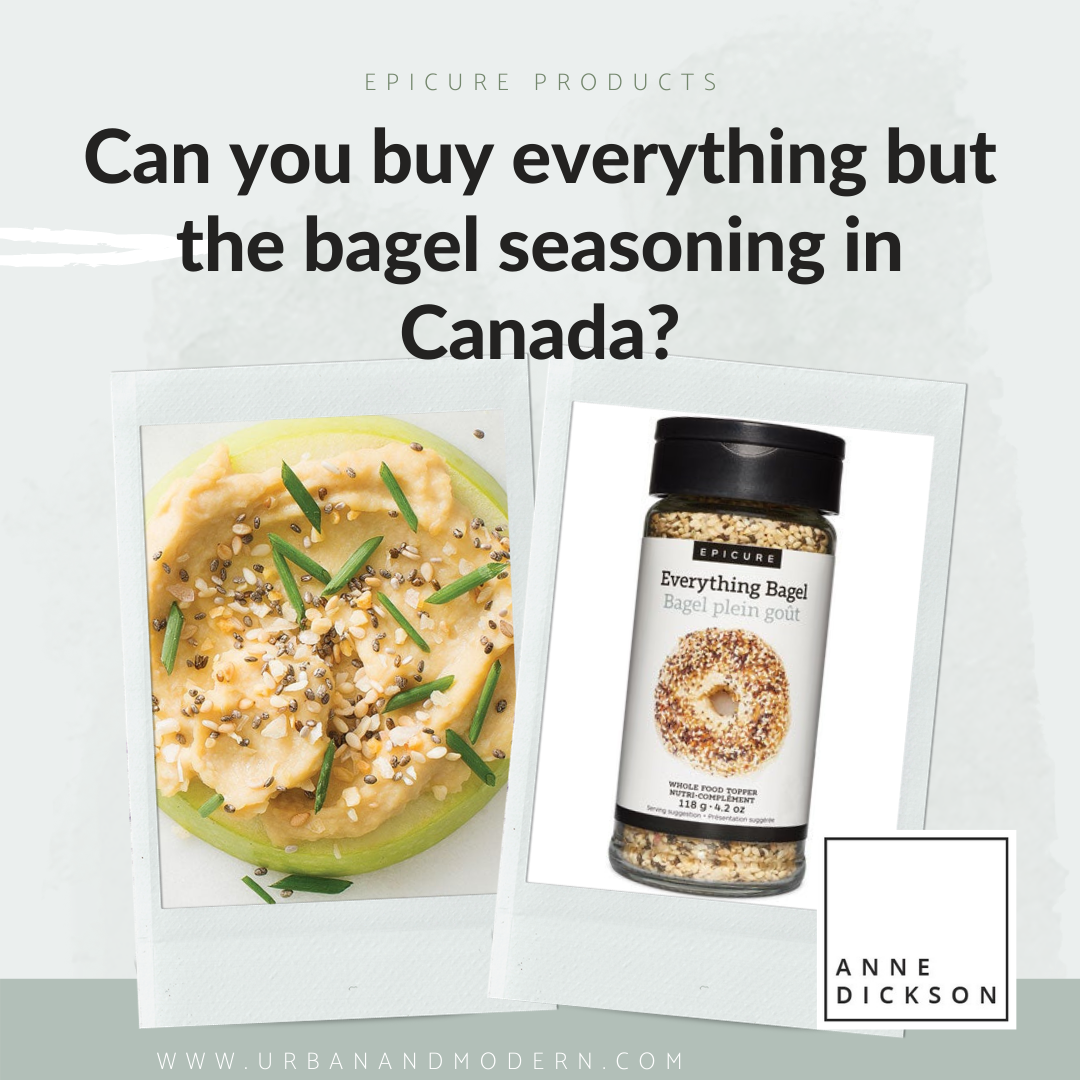 Can you buy everything but the bagel seasoning in Canada?