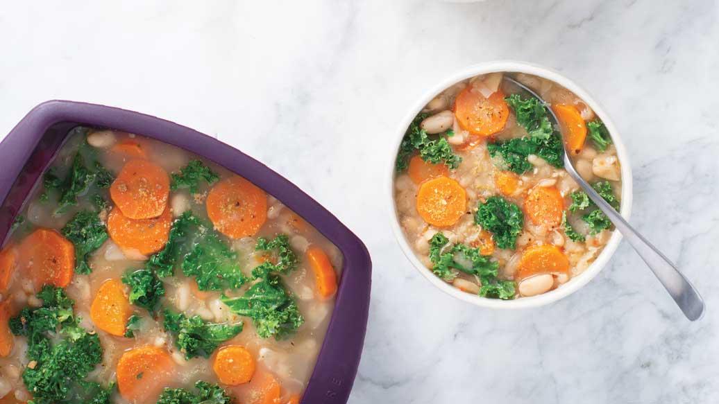 Quick White Bean & Kale Soup