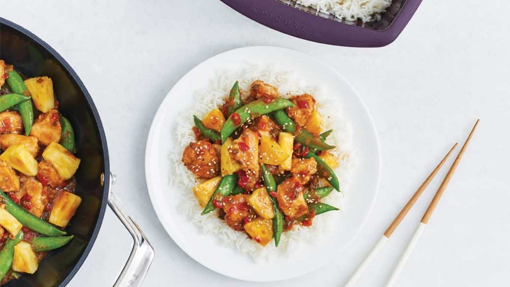 Epicure Sweet and Sour Stir-Fry 2