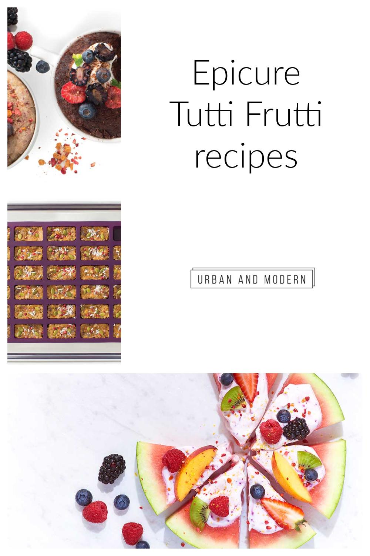 Epicure Tutti Fruity
