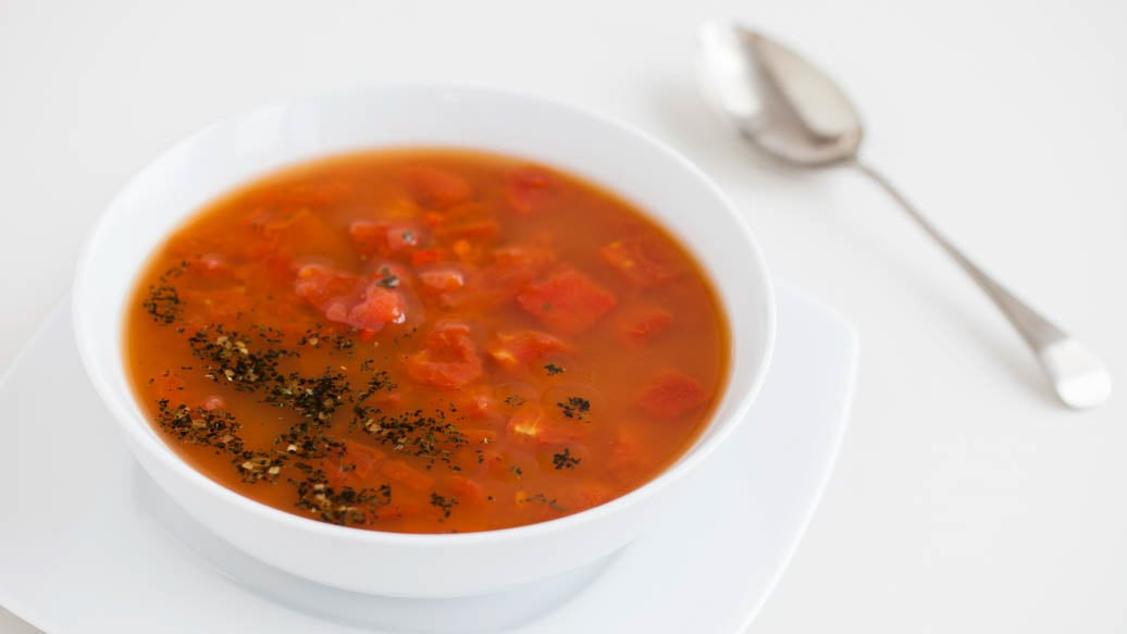 Red Pepper and Tomato Zuppa