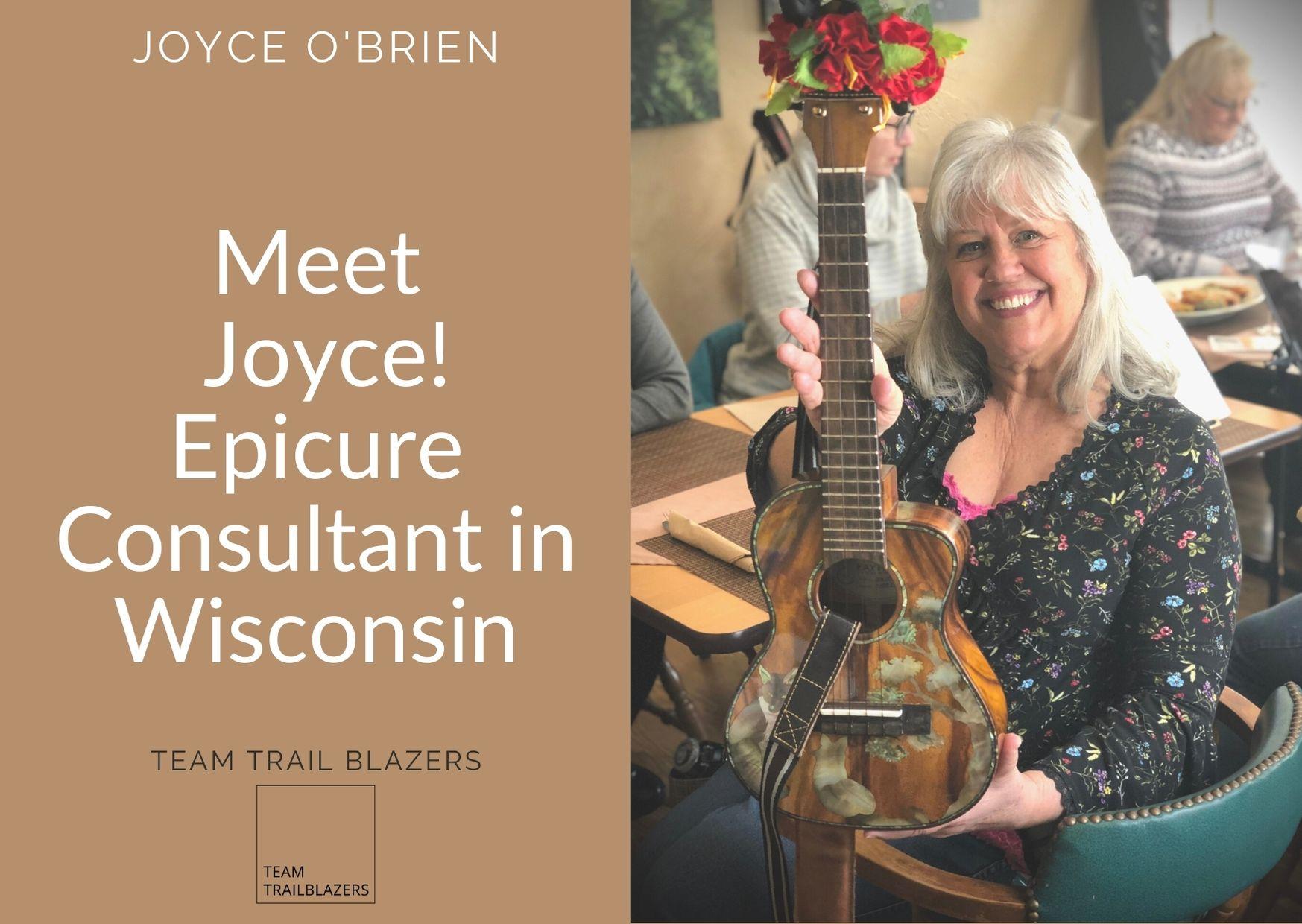 Joyce O'Brien, Epicure Consultant