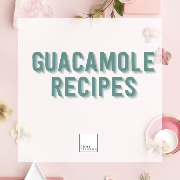 Guacamole recipes