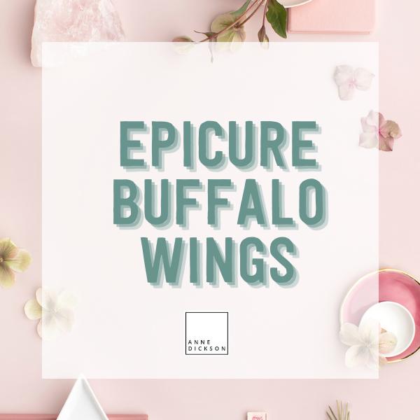 Epicure Buffalo Wings