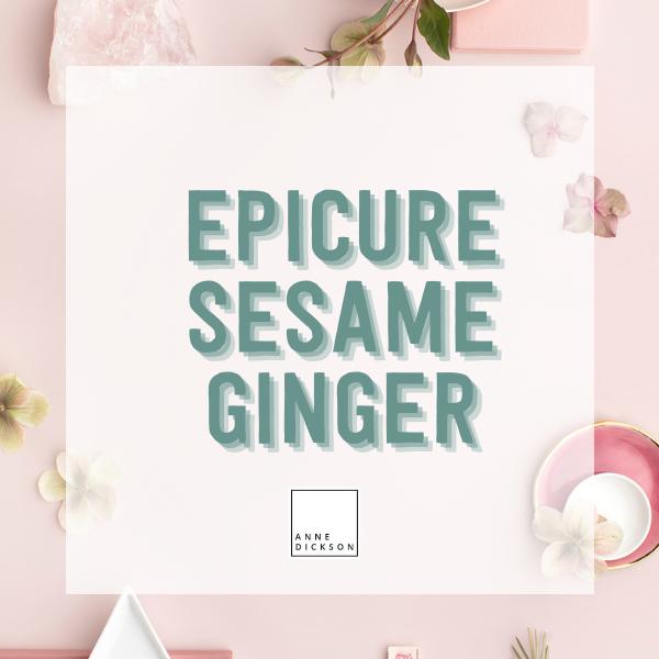 Epicure Sesame Ginger