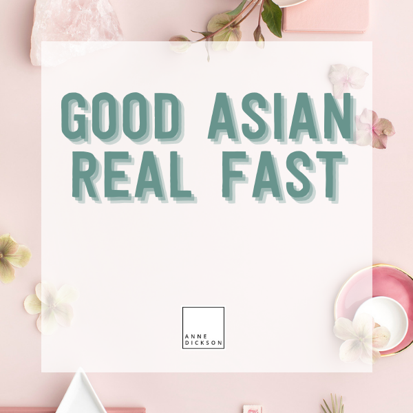 Good Asian Real Fast