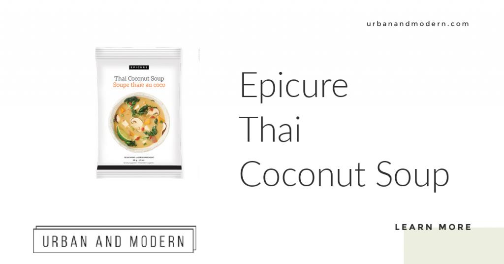 Epicure Thai Coconut Soup 1