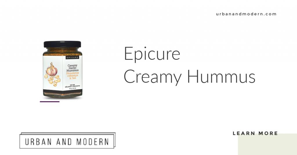 Epicure Creamy Garlic Hummus 1