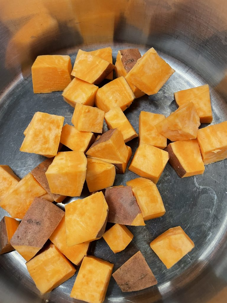Sweet potato from the Recipe Epicure Coconut Soup