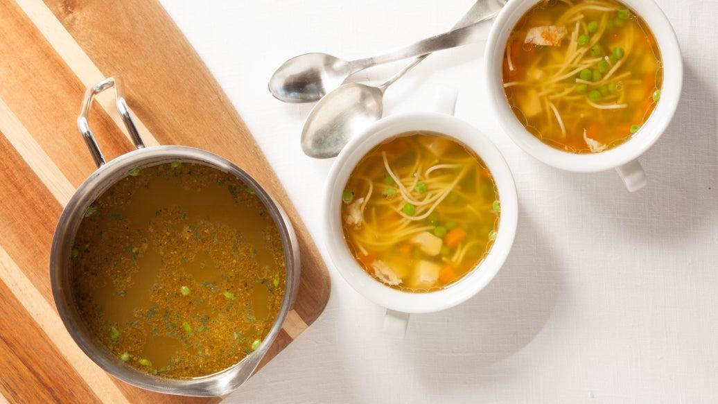 Classic Turkey Noodle Soup