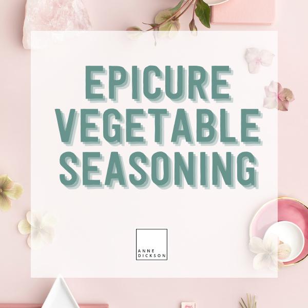 Epicure Vegetable Seasoning