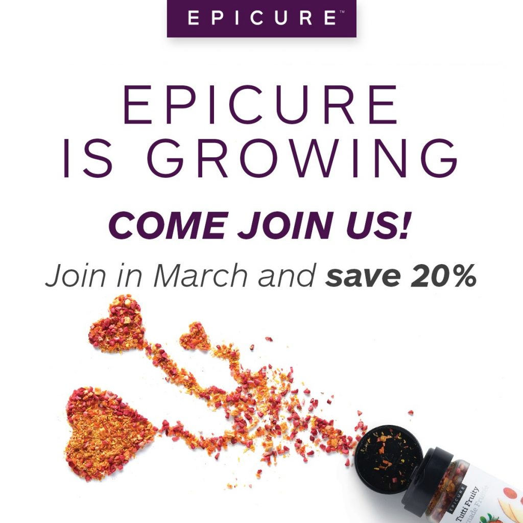 join epicure now