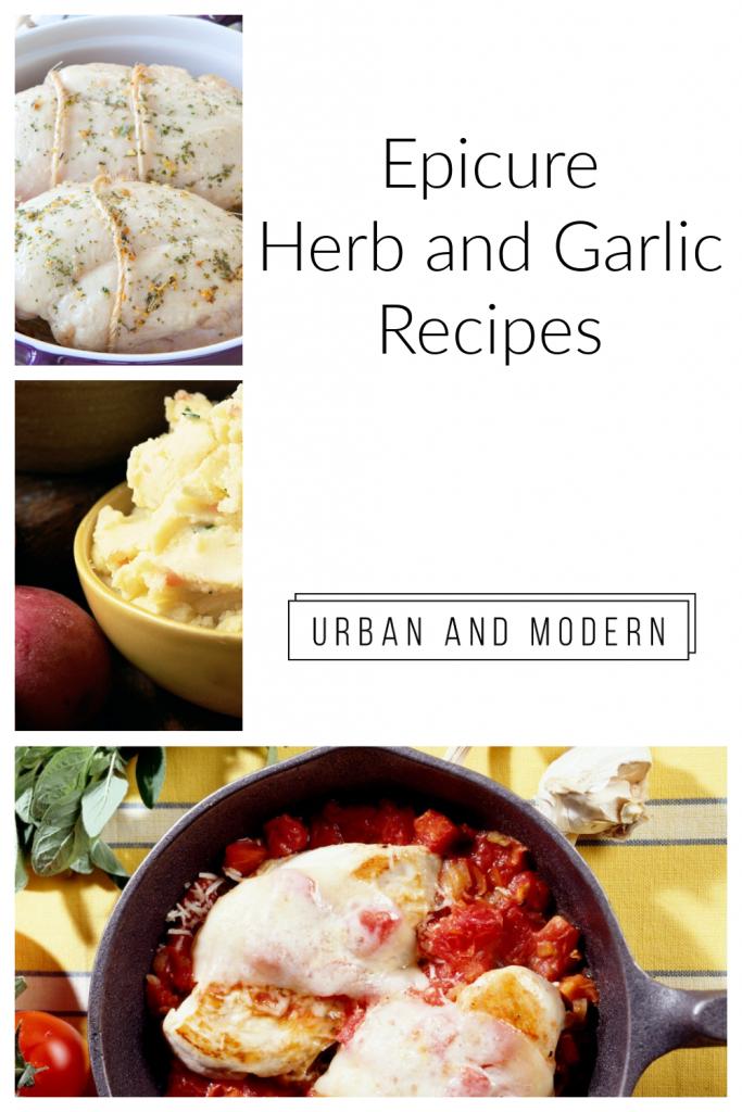 herb and garlic recipes