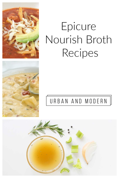 Epicure Nourish Broth