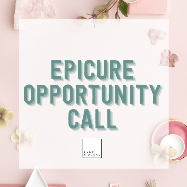 Epicure Opportunity Call