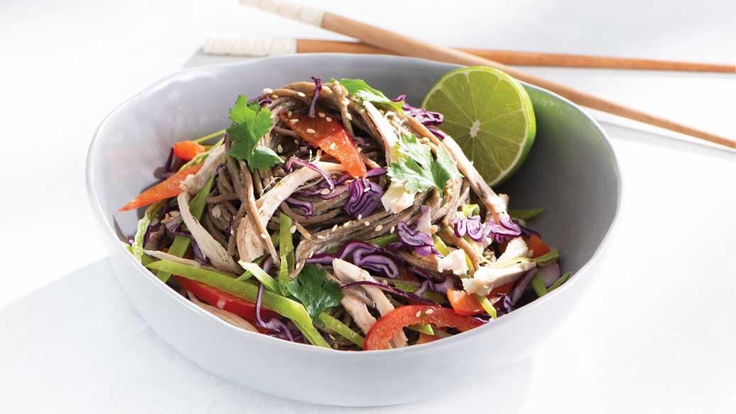 Miso Noodle Salad