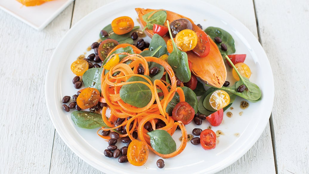 Powered Up Spinach Salad