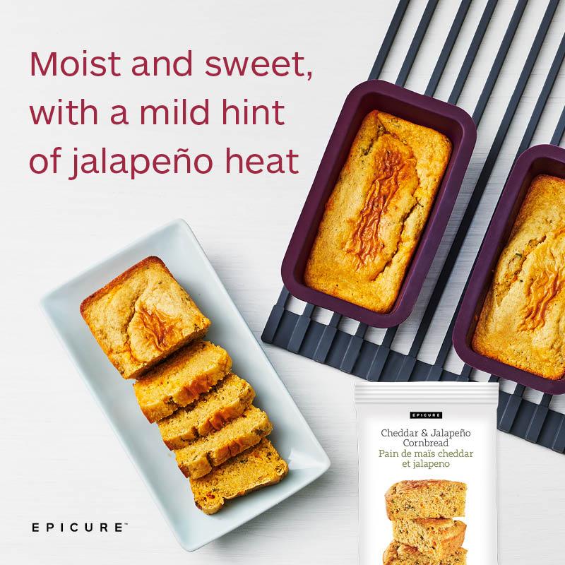 Epicure Cheddar & Jalapeno Cornbread 3