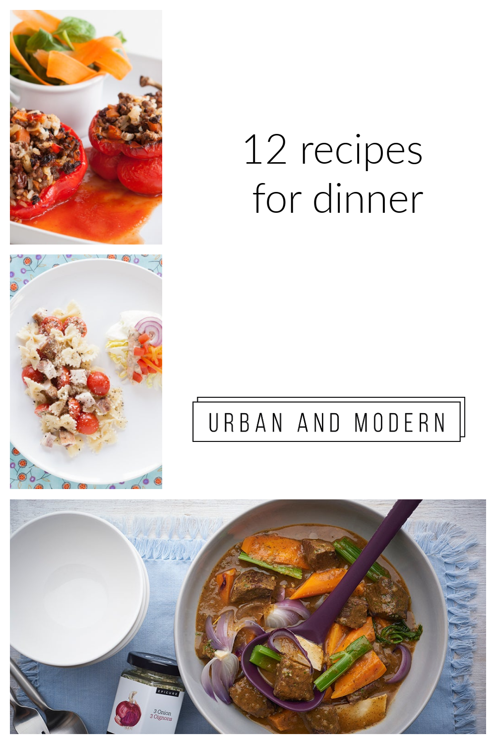 Recipes for Dinner
