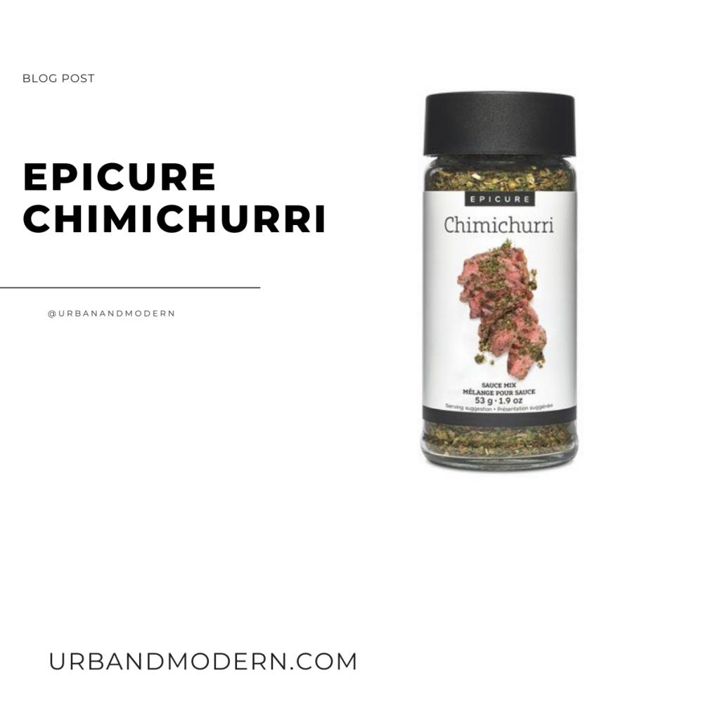 epicure chimichurri