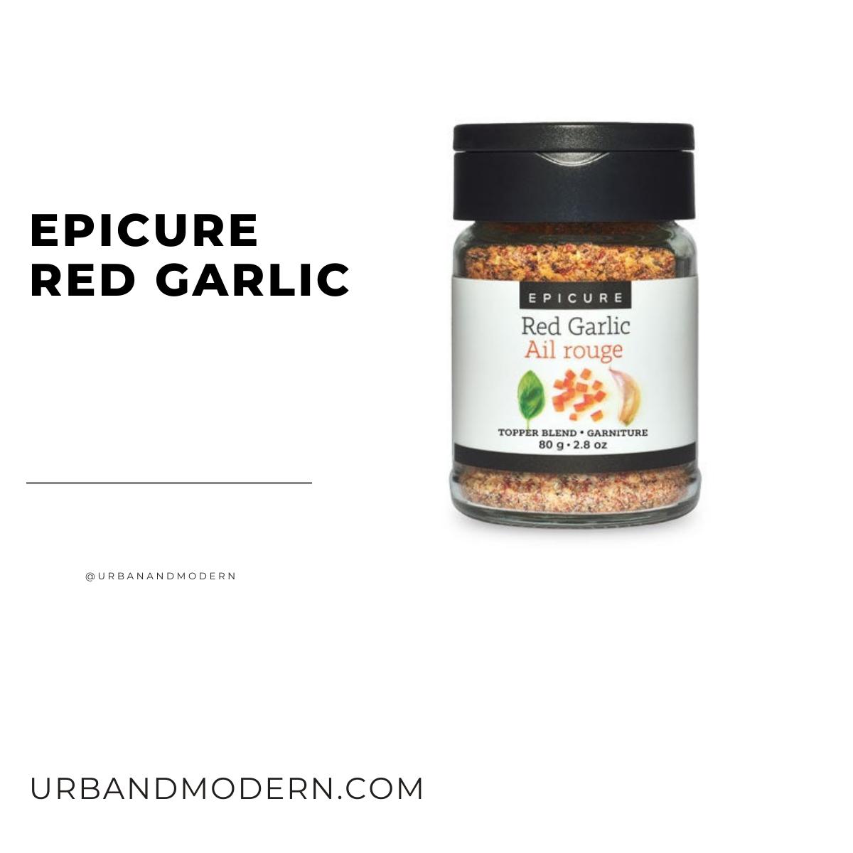 Red Garlic Topper